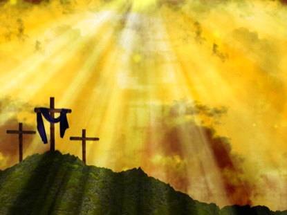 Pics For > Easter Resurrection Background